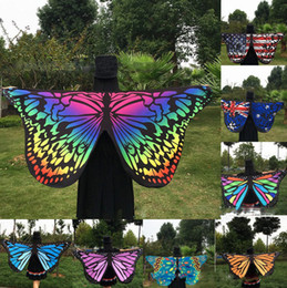 Wholesale Polyester Rectangle Tablecloths - Tapestry Hippy Boho Tablecloth Mandala Beach Towel Indian Bikini Wrap Butterfly Design Beach Shawl Cover Up Yoga Picnic Mat