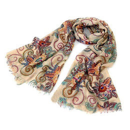 Wholesale Wholesale Fashion Accessory Scarf - Wholesale- Fashion 1 pc Exquisite Women Long Soft Chiffon Voile Scarf Wrap Large Silk Winter Shawl Stole Scarf women accessories