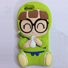 Wholesale Smartphone Case Cover Silicone - Arale Shape Silicone case cover for iphone Cartoon Case with favorable price and high quality case smartphone