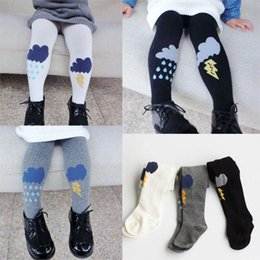 Wholesale Cute Leggings For Toddlers - Cute Rain Weather Tights Cotton Children Baby Girl Winter Stocking Kid Toddler Pantyhose For 0-5 Years