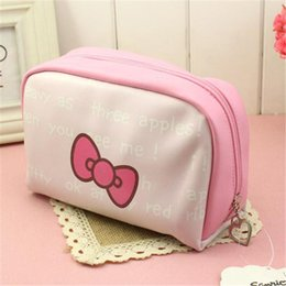 db84d9d492 Hello Kitty Woman Large Beauty Waterproof Professional cosmetic bag case  Wash Necessaire Travel Toiletry Organizer Make up Bags zipper purse
