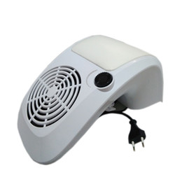 Wholesale Nail Salon Machines - 40W High Power Salon Nail Art Tool Suction Nail Dust Collector Machine Vacuum Cleaner Strong Fan Hand-rest UV Gel Nail Dryer Tip