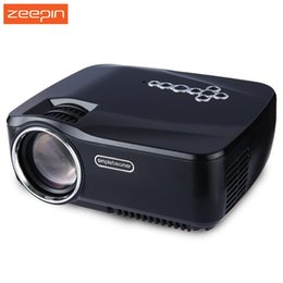 Wholesale wifi ezcast - Wholesale-GP-70UP Projector LED LCD Projector Android 4.4 Full HD DLAN WIFI Bluetooth Miracast Airplay EZCast Multilanguage MINI Beamer
