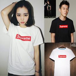Wholesale Basic Black T Shirt - Wholesale-Women Casual letters print T shirt 100%cotton camisas femininas Girl basic short sleeve O neck Shirts tops plus size Black White