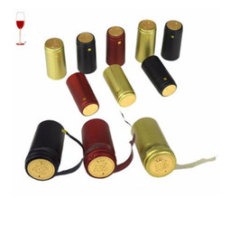 Wholesale Brew Heat - 200pcs Pvc Heat Shrink Cap Home Brewing Wine Seal Cover Import Row Material Red Wine Bottle Seal Bar DIY Accessories