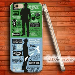 Wholesale Iphone 5c Clear Tpu Transparent - Fundas Supernatural TV Series Collage Soft Clear TPU Case for iPhone 6 6S 7 Plus 5S SE 5 5C 4S 4 Case Silicone Cover.