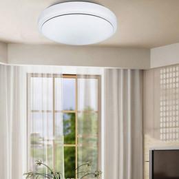 luces de techo de ahorro de energía de dormitorio Rebajas 9W ~ 24W LED luces de techo 85 ~ 265v redondas LED luces de techo de ahorro de energía luz de techo dormitorio sala de estar Foyer Iluminación Luz blanca