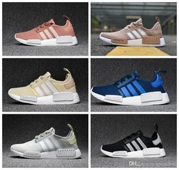 Wholesale Men Campus Shoes - 2017 Original NMD Originals Runner PK xr1 black white Men and Women Classic Fur Sneakers 9632 Campus Lovers running Shoes r1 ultra boost