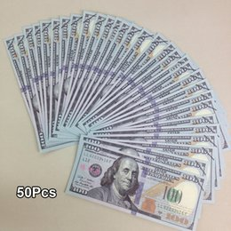 Wholesale USA Practicing Props Paper Money Collection Latest Bank Training Learning Banknotes Teaching Money Childre Gift