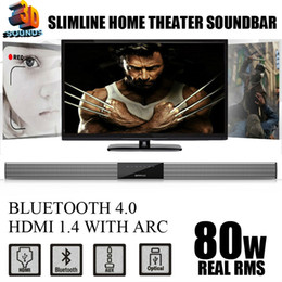 Wholesale Wireless Tvs - Wholesale- WIRELESS TV SPEAKER   TV SOUNDBAR , WITH HDMI&BLUETOOTH DIGITAL INPUTS, 3D SOUND WITH POWERFUL BASS , BEST SOUND BAR FOR TV