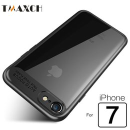 Wholesale New Iphone Silicone Cases - 2017 new Slim Phone Case for iPhone 7 6 6s 8 plus iphone X Ultra thin Transparent PC & TPU Silicone Case Cover
