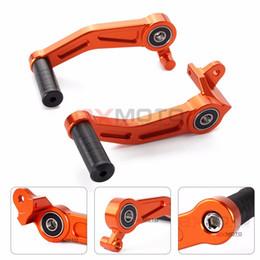 Wholesale Motorcycle Levers Suzuki - Orange Clutch Pedal Gear Motorcycle Brake Aluminum Lever For Ktm Duke 125 200 390 RC 125 200 390 2013 2014 2015