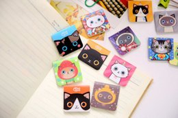 Wholesale Wholesale Paper Clip Bookmark - 3Pcs Set Cartoon Kawaii Stationery cute Magnetic Bookmark For Books Mark Clips Office Teacher Gift Kids School Supplies Free shipping