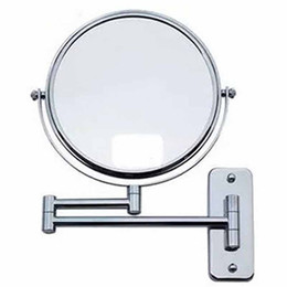 Wholesale Framing Bathroom Mirrors - KG Double-sided Wall Makeup Mount Mirror with 3x Magnification Chrome Plated 6 inch 7 inch 8 inch