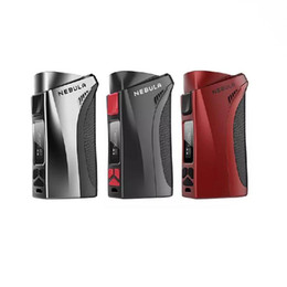 Wholesale Red Nebula - authentic vaporesso Nebula TC box mod 100W powered by single 26650 or 18650 battery output for smart VW  CCW  VT  CCT  TCR  Bypass