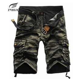Wholesale Men S Work Clothing - Wholesale- 2017 Brand Cargo Shorts Men Quality Sale Casual Camouflage Summer Clothing Cotton Male Fashion Army Work Shorts Men Quick Dryi