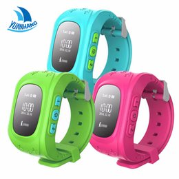 Wholesale Baby Moods - Wholesale- 2017 Smart Safe GPS Watch Wristwatch SOS Call Location Finder Locator Tracker for Kid Son Child Anti Lost Monitor Baby Gift Q50