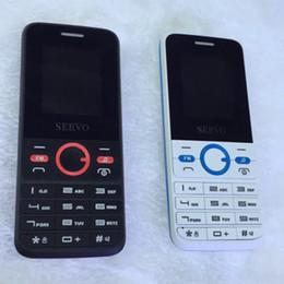 2019 x touch mobilen zoll 2017 Original Servo Handy 8240 Schwarz Und Weiß Dual Sim Karte Handy Mit Schlüssel Mit Gute Qualität Freies Verschiffen