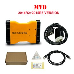 Wholesale Multi Diag Truck - Multi Vehicle Diag MVD TCS CDP with without Bluetooth 2015R3+2014R2 version Same As TCS CDP Pro New VCI Auto Tools For Car Truck
