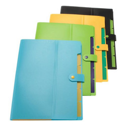 Wholesale A4 Paper Folder - Wholesale- SOSW- Document Holder folder Storage Binder pouch Package for A4 paper