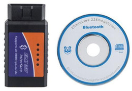 Wholesale Mazda Engine Fault Codes - US Stock! ELM327 Car Scan Bluetooth Wireless OBD2 Diagnostic Interface Fault Detection Tool New Free Shipping