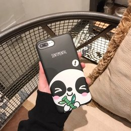 Wholesale Iphone Cases Silicon Animals - Silicon For Apple Iphone 7 7plus 6 6plus Cell Phone Accessories Cases Duck Panda Cow Rabbit Shell Phone Lovely Animal Mobile Phone Case