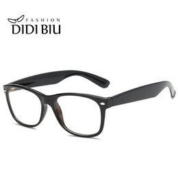 Wholesale Computer Radiation Glasses - DIDI Anti Radiation & Fatigue Rectangle Eyeglasses Women Men Computer Gaming Clear Glasses Full Rim Prescription Transparent Spectacles U388