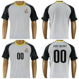 Camiseta de fútbol de Ghana 2017 2018 Camiseta de calidad tailandesa  personalizada 8 Michael Essien Camiseta 216c8012755cf