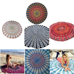 Wholesale Mix Order Color - Women Cover Ups Beach Chiffon Clock Swimsuit Bohemian Style Beach Wear Bikini Covers Kimono Swimwear Cover Up 7 Color 2807013