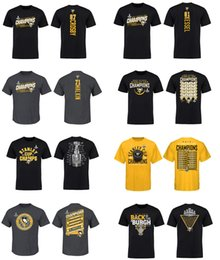 Wholesale Gray Cupping - NHL Jersey 87# Sidney Crosby Pittsburgh Penguins 2017 Stanley Cup Champions T-Shirt for man women kid