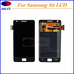 Wholesale Replacement Lcd S2 - Original AAA Quality For Samsung Galaxy S2 i9100 LCD Screen Digitizer Assembly Replacement Repair Panels Without Frame Free Shipping