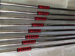 Wholesale Kbs Steel Iron Shafts - 10PCS KBS TOUR 90 Steel Shaft R S-Flex High Quality OEM Steel Golf Shaft For Golf Irons Wedges DHL Free Shipping