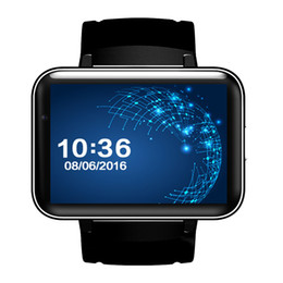 Wholesale Wifi Cameras For Outdoors - New Smart Watch Phone DM98 Android 4.4 OS MTK6572 Dual Core Bluetooth Smartwatch Fitness Tracker Nano SIM Wifi Heart Rate GPS