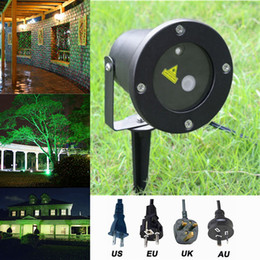 Wholesale Stage Laser Star Projector - LED FloodLight Outdoor Waterproof IP65 Laser Firefly Stage Lights Landscape Red Green Projector Christmas Garden Sky Star Lawn Lamps By DHL