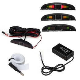 Wholesale Electromagnetic Sensor System Parking - Electromagnetic Auto Reversing Car Parking Radar Sensor with Led Buzzer car parking radar system