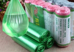 Wholesale Measuring Can - Thickened Black Garbage Bags Household Disposable Plastic Bags with Flat mouth type and Optional Colors Measured 45*55 That Can