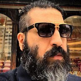 Wholesale Green Hd - Wholesale- ,Men Italy Luxury Brand Sunglasses Square Driving Men Sunglasses HD 2016 Women Sun Glasses Male ShadesClear Lens