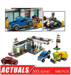 Wholesale Cities Service - City Town Service Station--LEPIN BLOCKS LEPIN BRICKS 02047