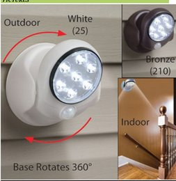 Wholesale Glass Cabinet Light - 360 degree rotating LED human body sensor lamp bedroom night light cabinet wardrobe lamp corridor ceiling light