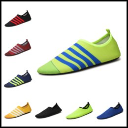 Wholesale Shoes For Swimming - Unisex Sport Running Shoes Moccasins Nakedfoot Soles Beach Socks 29 Colors Boots for Swim Surf Jog