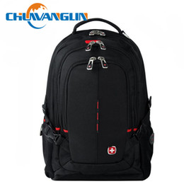 Wholesale Leisure Wear For Men - Wholesale- Chuwanglin New hot leisure student backpacks travel travel bags for men with Waterproof wear-resisting laptop bags C9393