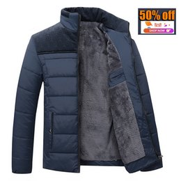Wholesale Men Winter Padded Jacket - Wholesale- 2016 new Brand winter warm Jacket for men hooded coats casual mens thick coat male slim casual cotton padded down casual warm