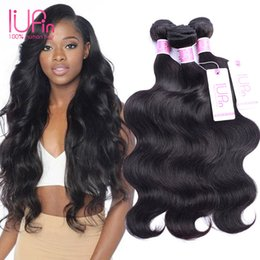 Wholesale Cheap Hair Extension Pieces - Good Cheap Brazilian Hair Body Wave 3 Bundles Indian Peruvian Brazilian Virgin Hair Extensions Remy Wet And Wavy Human Hair Bundles Weave