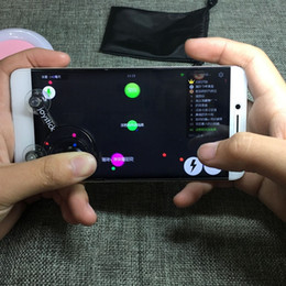 Wholesale Bluetooth Sucker - New Android mobile phone tablet game joystick mobile joystick-it fling mini rocker sucker do not need to connect the Bluetooth play all kind