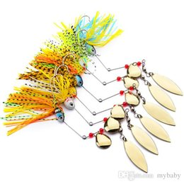 Wholesale Design Lure - 6 Model 2017 Design Fishing Tackle 6 color Spoon Lures 20pc Spinner Lure Fishing Lure for Fishing bait
