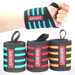 Wholesale S3 Gym Strap - Wholesale- 1pc Weight Lifting Wristband Sport Safety Wrist Support Gym Training Wrist Straps Fitness Bandage Wraps Wrist Guards s3