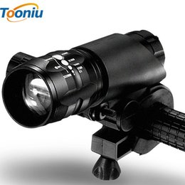 Wholesale Q5 Led Flashlight Bicycle - Waterproof LED Flashlight CREE 2300LM Bicycle Light Q5 LED Flashlight 3 Modes Zoomable LED Torch Adjustable Penlight