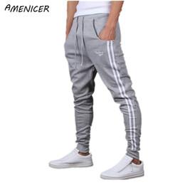 Wholesale Dress Sweatpants Men - Wholesale-Mens Fashion Harem Pants Dress Trousers Drop Crotch Trousers Sweatpants For Man Pantalones Chandal Hombre
