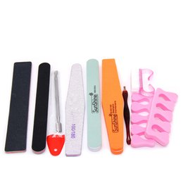 Wholesale Manicure 36w - Nail Tools Sets Kits Nail Art Manicure Tools 36W UV Lamp + 3 Color 10ml soak off Gel nail base gel top