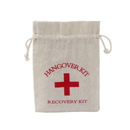 Wholesale milking tool - Emergency Tools Storage Bag Cotton Red Cross Hangover Kit Bags High Quality Beam Port Fashion Classics Hot Sale 1 09gf J R